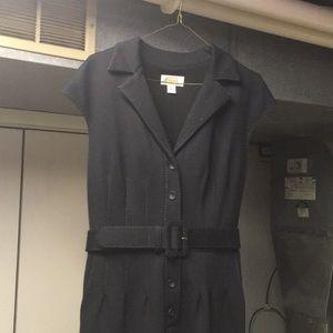 Talbots Black Shirt Dress